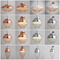 Vintage chorme copper metal alloy LED light pendant lighting