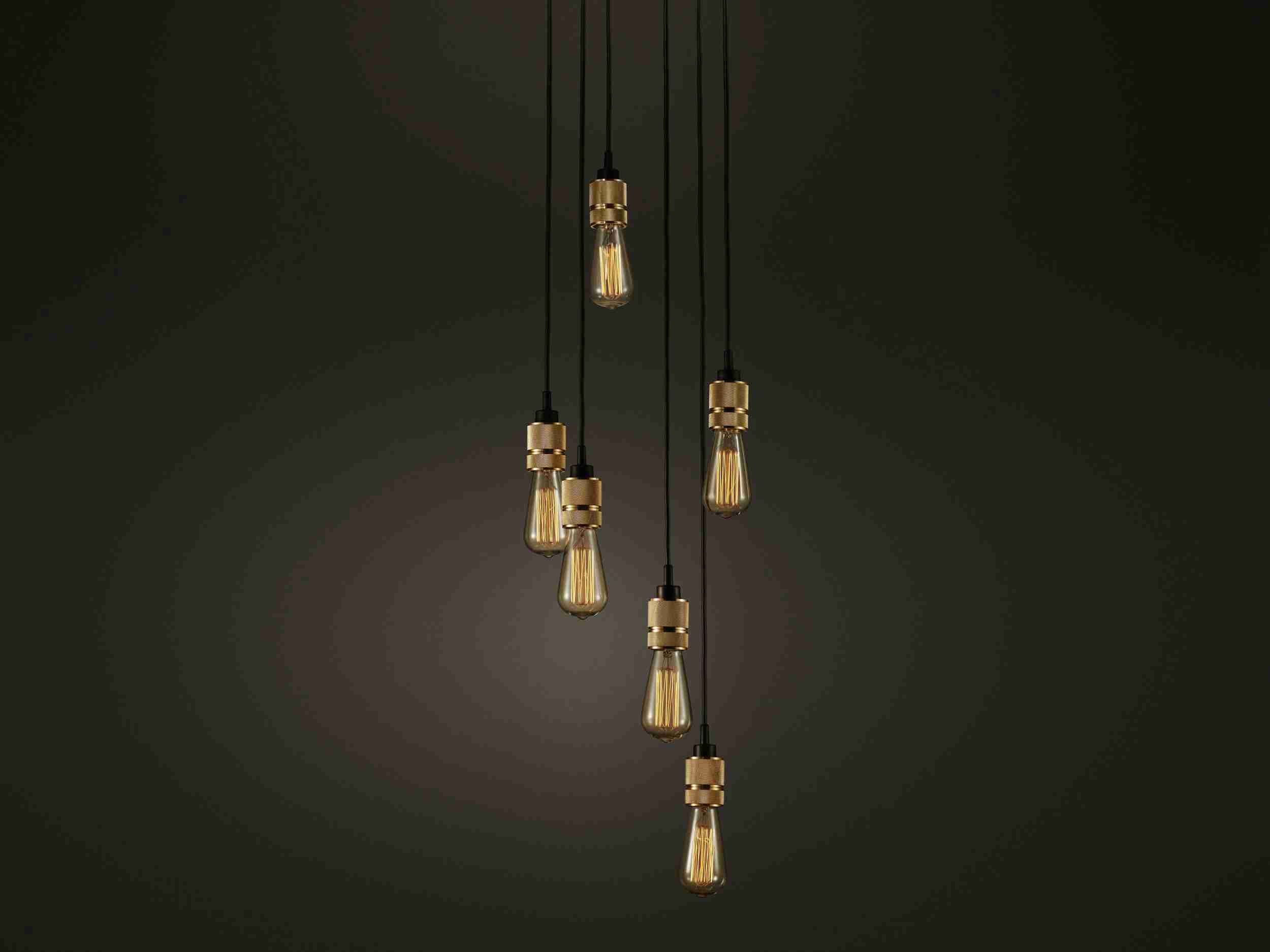 Design Unique Bulb Metal Pendant Light