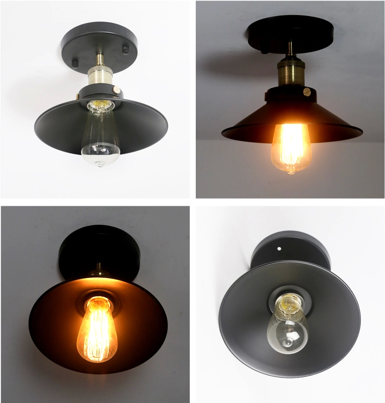 RH Loft Vintage Ceiling Lighting Fixture Home Ceiling Lamps