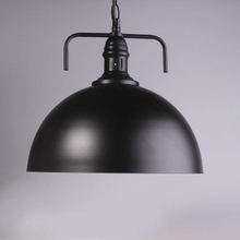 Excellent Quality Retro Industrial Style Round Iron Pendant Light from China Supplier
