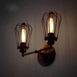 Design Unique Edison Bulb rustic wall sconce suppliers in China