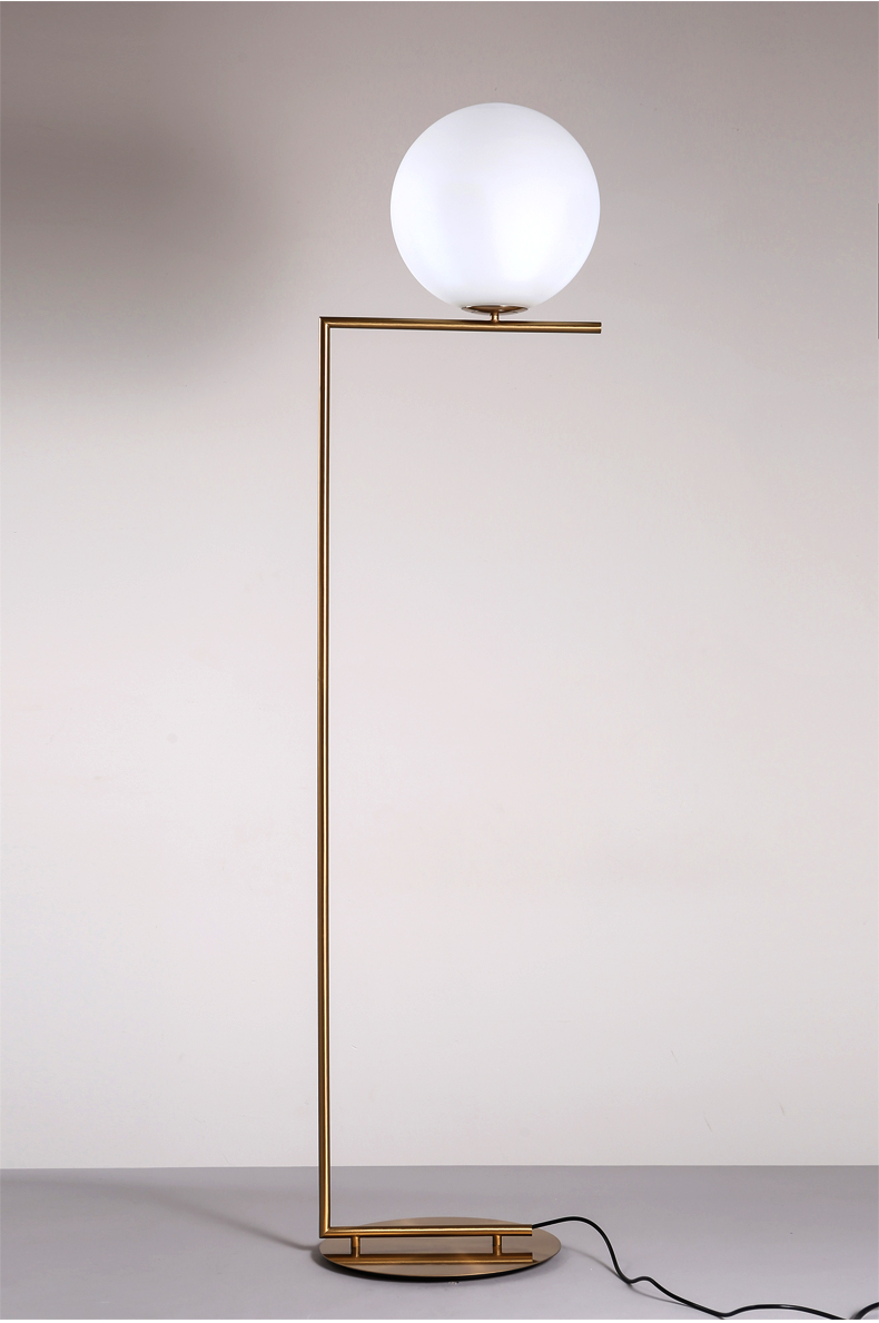 Fancy High Quality Glass ball Modern Floor Lamp, hotel Floor Standing Lamp (3030401)