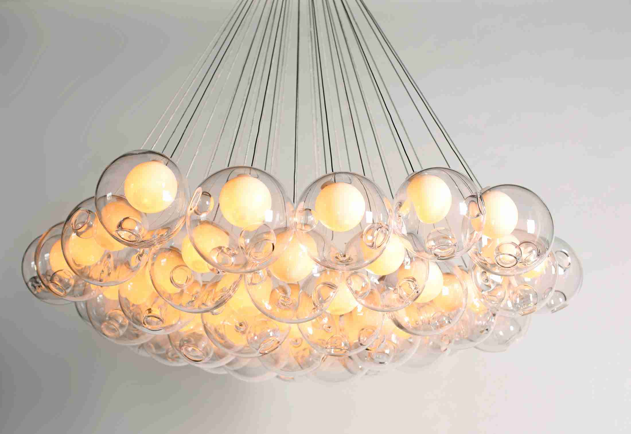 Double Glass Design Cover Ball Shape Good Look Decorative Pendant Lamp (5015101)
