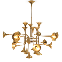 Botti chandelier Instrument trumpet shape chandelier for hotel (71746)