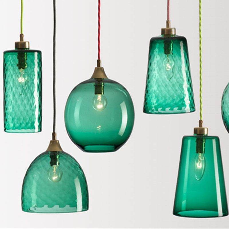 Hanging Light Cheap Metal+Glass with 1*E27 Pendant Lamp